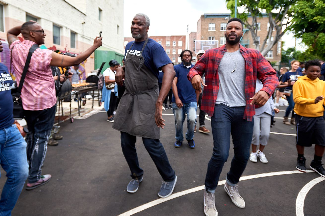"""The Help Give Care Foundation And The Charles Oakley Foundation Host """"Homeless But Human"""" Pop-up Festival During BET Weekend"""