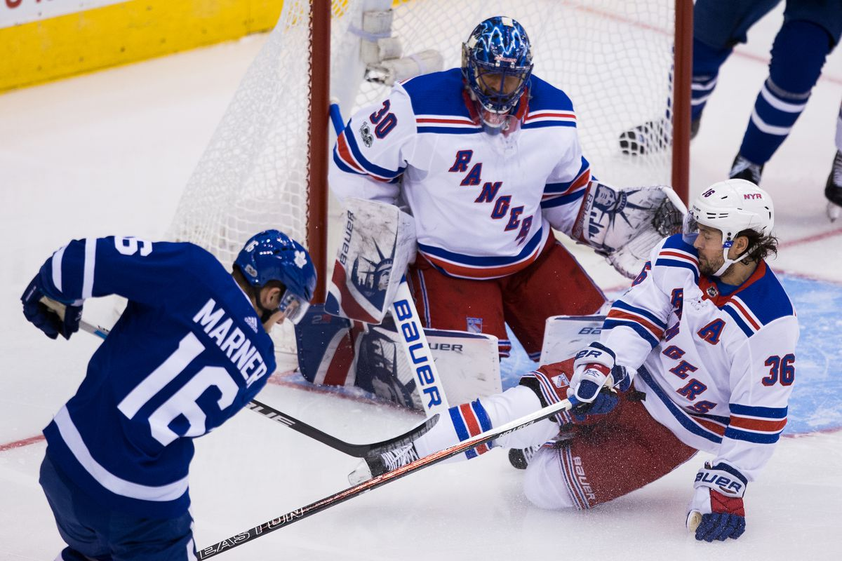 The Maple Leafs are eyeing up the wrong Rangers goalie