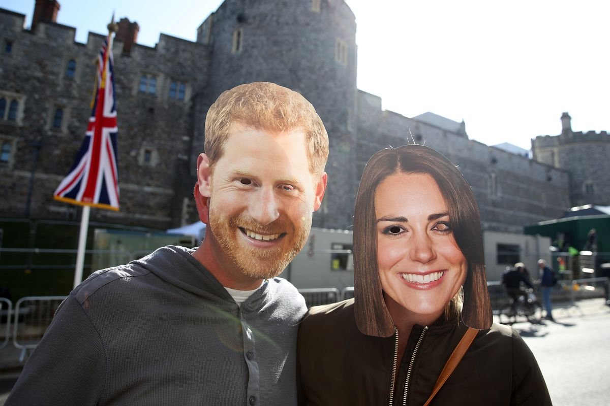 Rehearsal For The Wedding Of Prince Harry And Ms. Meghan Markle Takes Place In Windsor