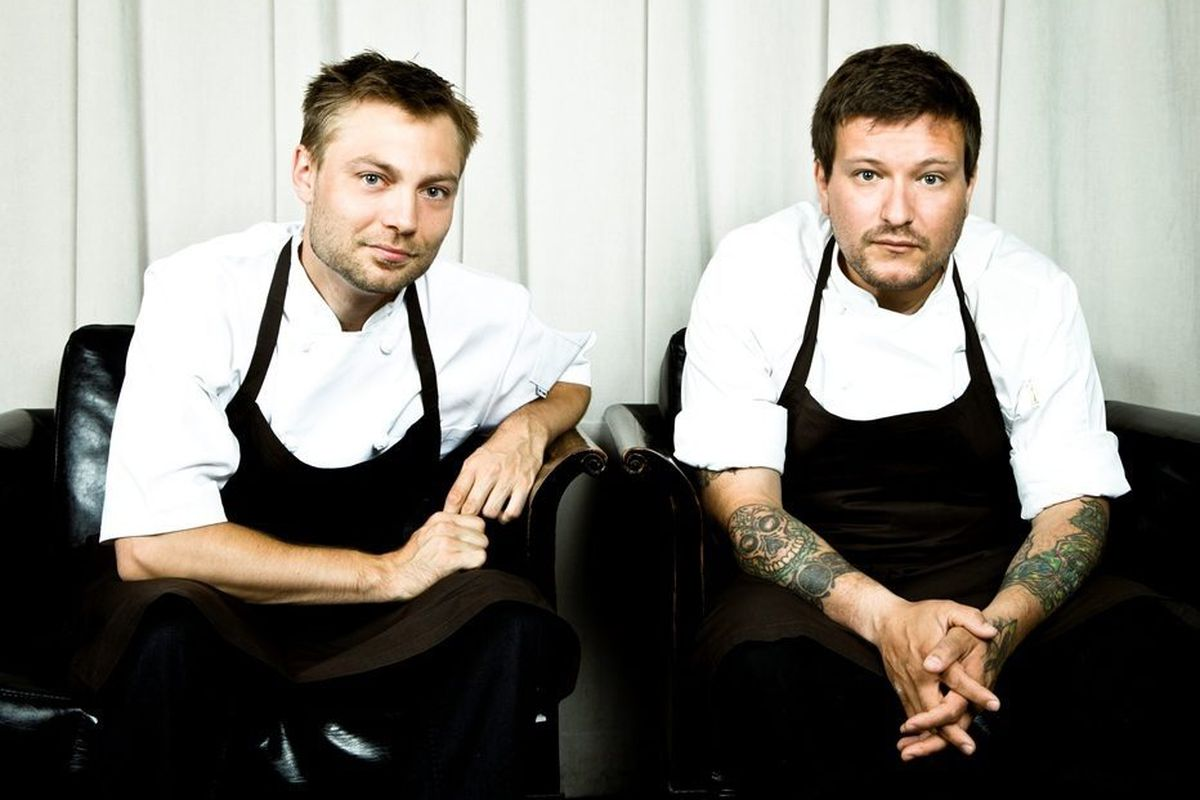 Josh Habiger and Erik Anderson
