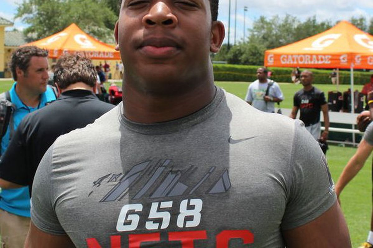 DeMarcus Walker is visiting Florida this Friday. Could the visit put the Gators in front of Alabama, Auburn and Clemson? (Bud Elliot, SB Nation)