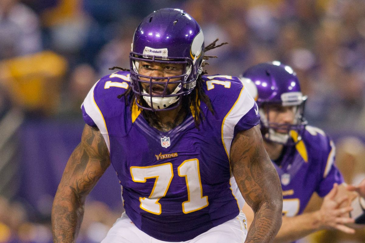 Surprise! Phil Loadholt is grading as one of the best tackles in the league.