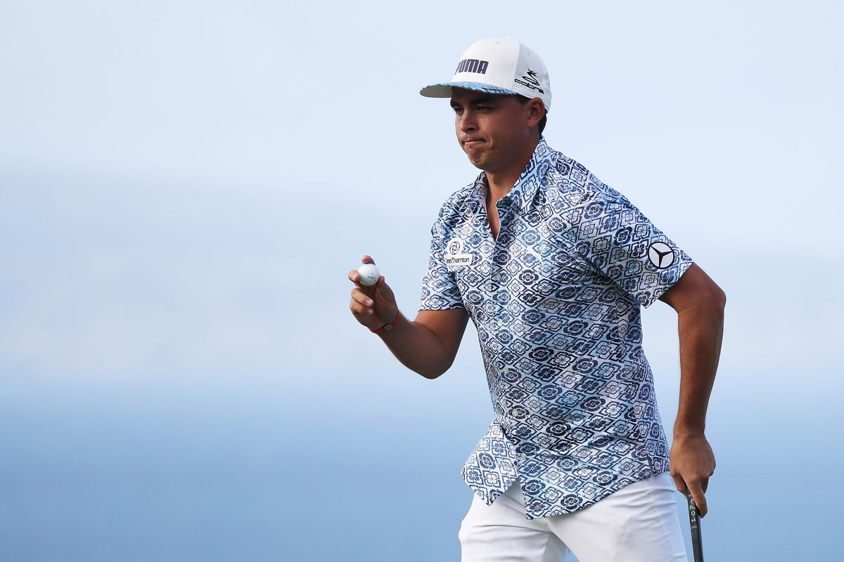 4fbc12801719 2018 Sentry Tournament of Champions  Rickie Fowler and his snazzy Hawaiian  shirt move up the leaderboard