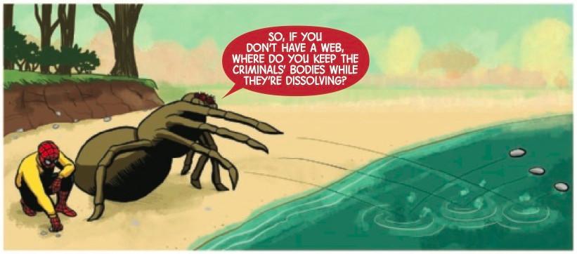 Strange博士帮助蜘蛛侠成为一个新朋友:一只真正的蜘蛛