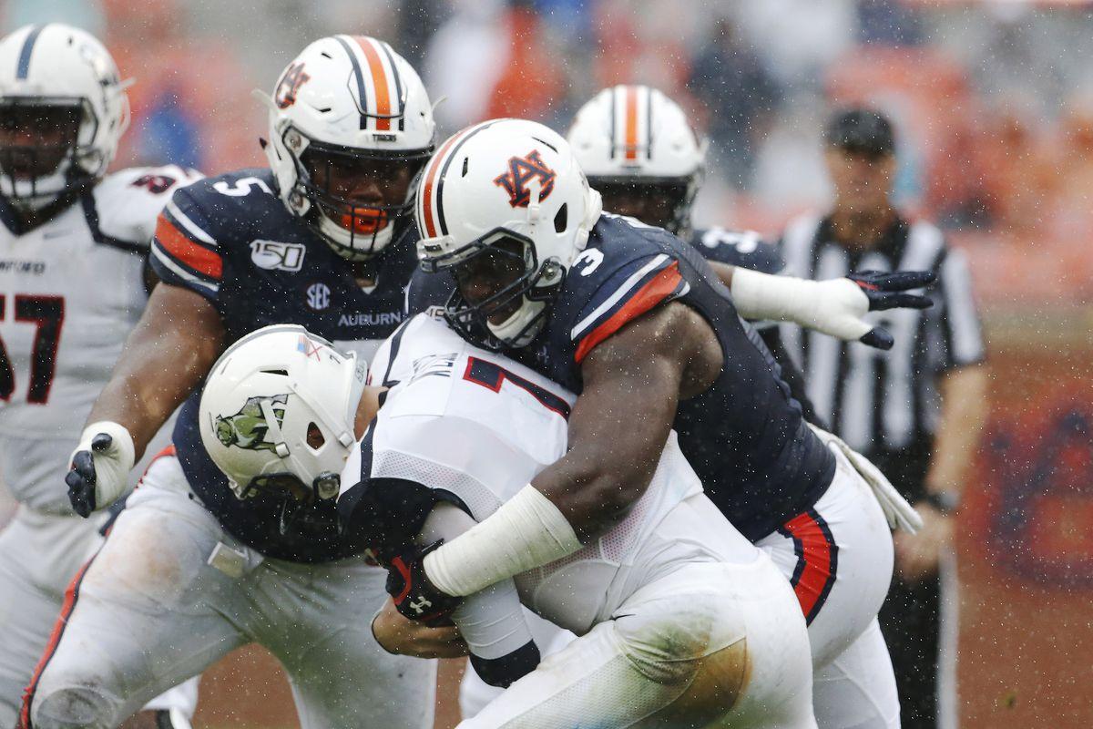 NCAA Football: Samford at Auburn