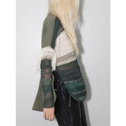 "<b>Laura Siegel</b> Embroidered Sweater in Green/White, <a href=""http://www.oaknyc.com/laura-siegel-embroidered-sweater-green-white.html"">$805</a> at Oak"