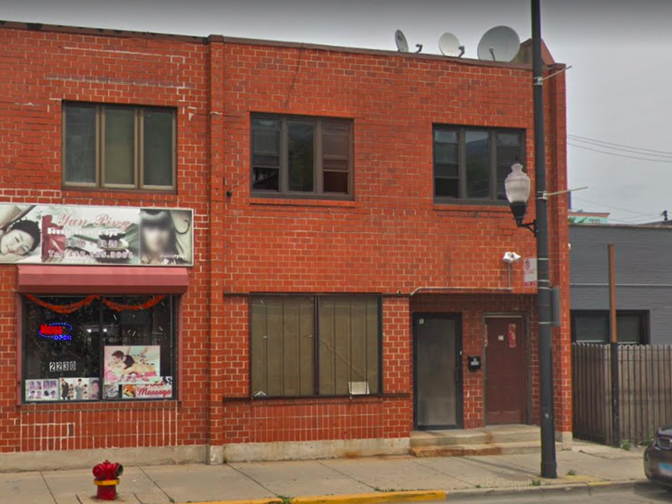 Xing Ying, one of the employment agencies, reportedly operates out of 2228 S. Archer Avenue