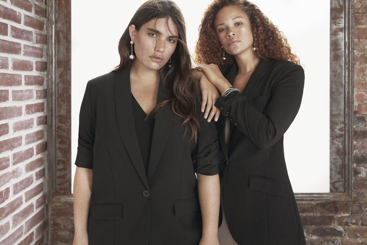 Universal Standard models in blazers