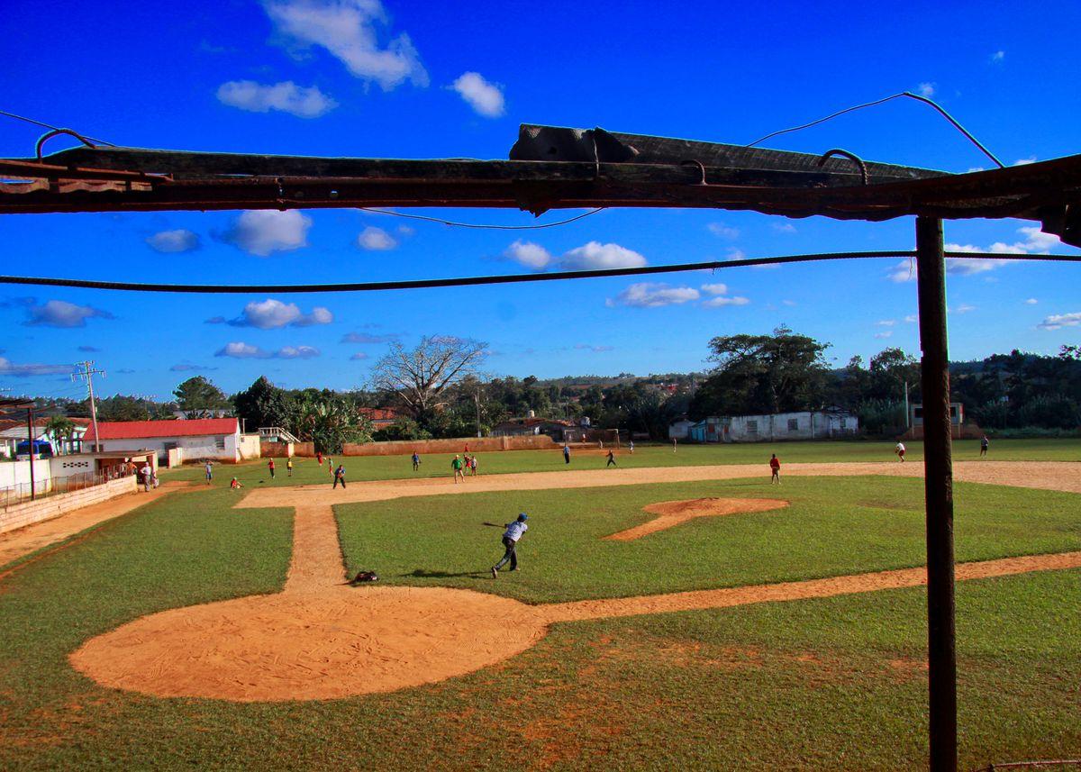 baseball players in Cuba