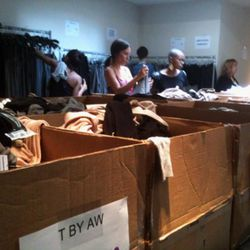Boxes of T by Alexander Wang