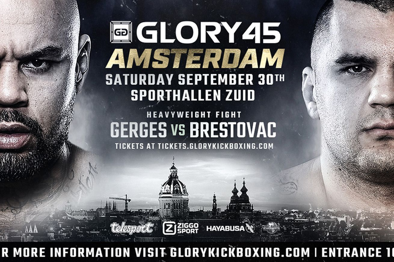 Hesdy Gerges vs Mladen Brestovac headlines GLORY 45 SuperFight Series on Sept. 30
