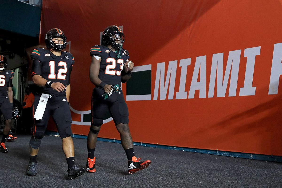 Canes Football unveil jersey combos for 2018 - State of The U 50aa113b1