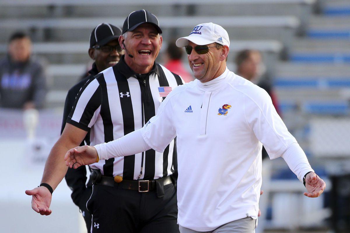NCAA Football: Iowa State at Kansas