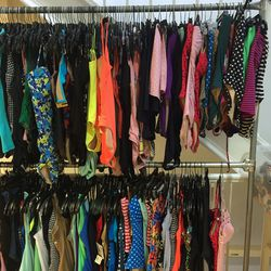 Swimwear, $40 for one-pieces