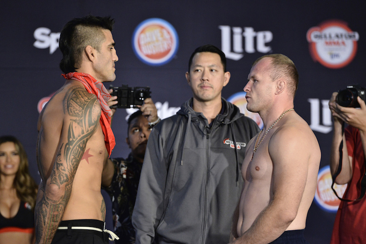 Kendall Grove and Alexander Shlemenko will square off in the Bellator 162 main event.