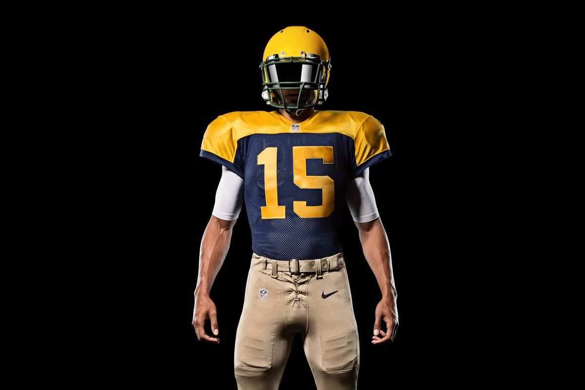 the best attitude 76640 71e72 Packers to wear throwback jersey in Week 6 against Chargers ...