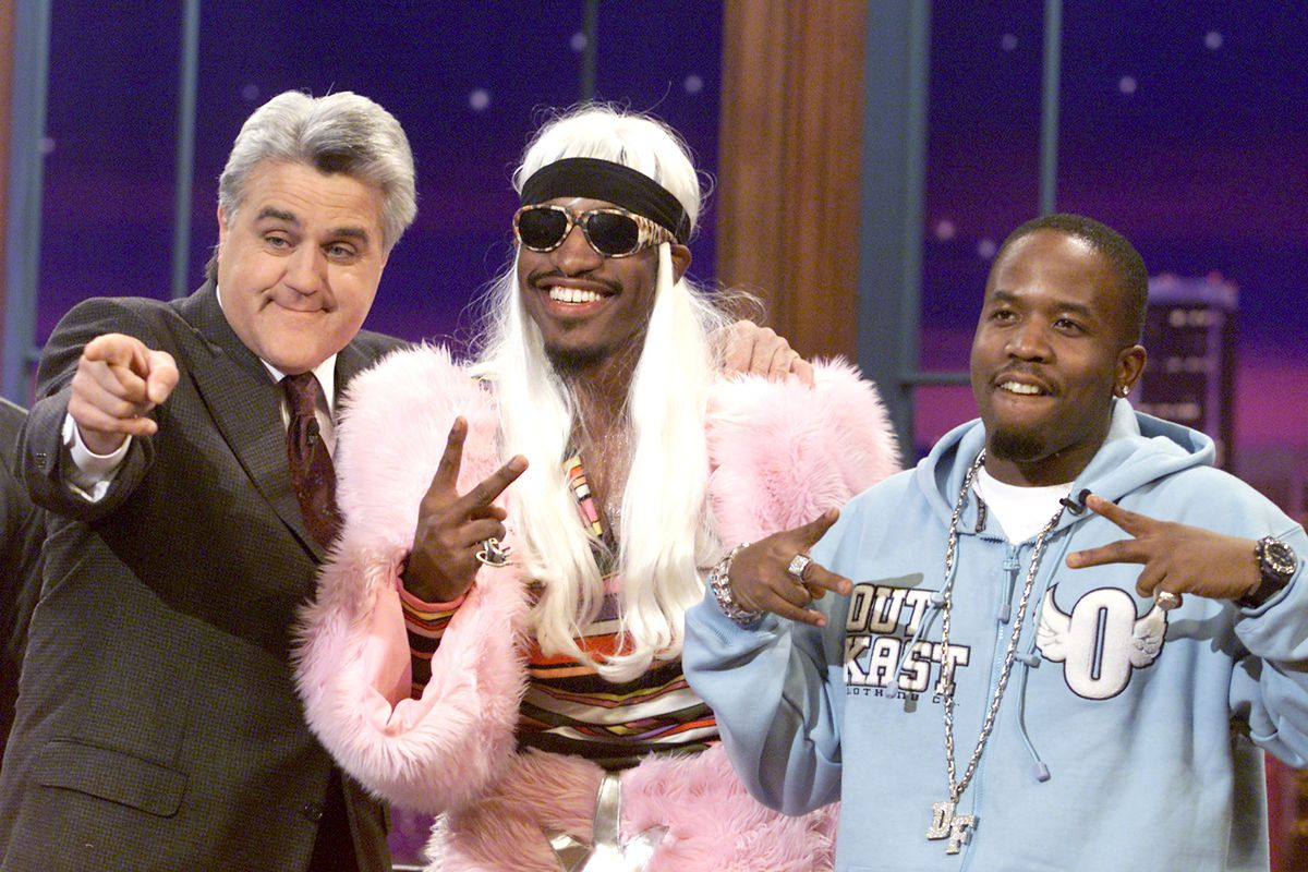 The Tonight Show with Jay Leno-Outkast
