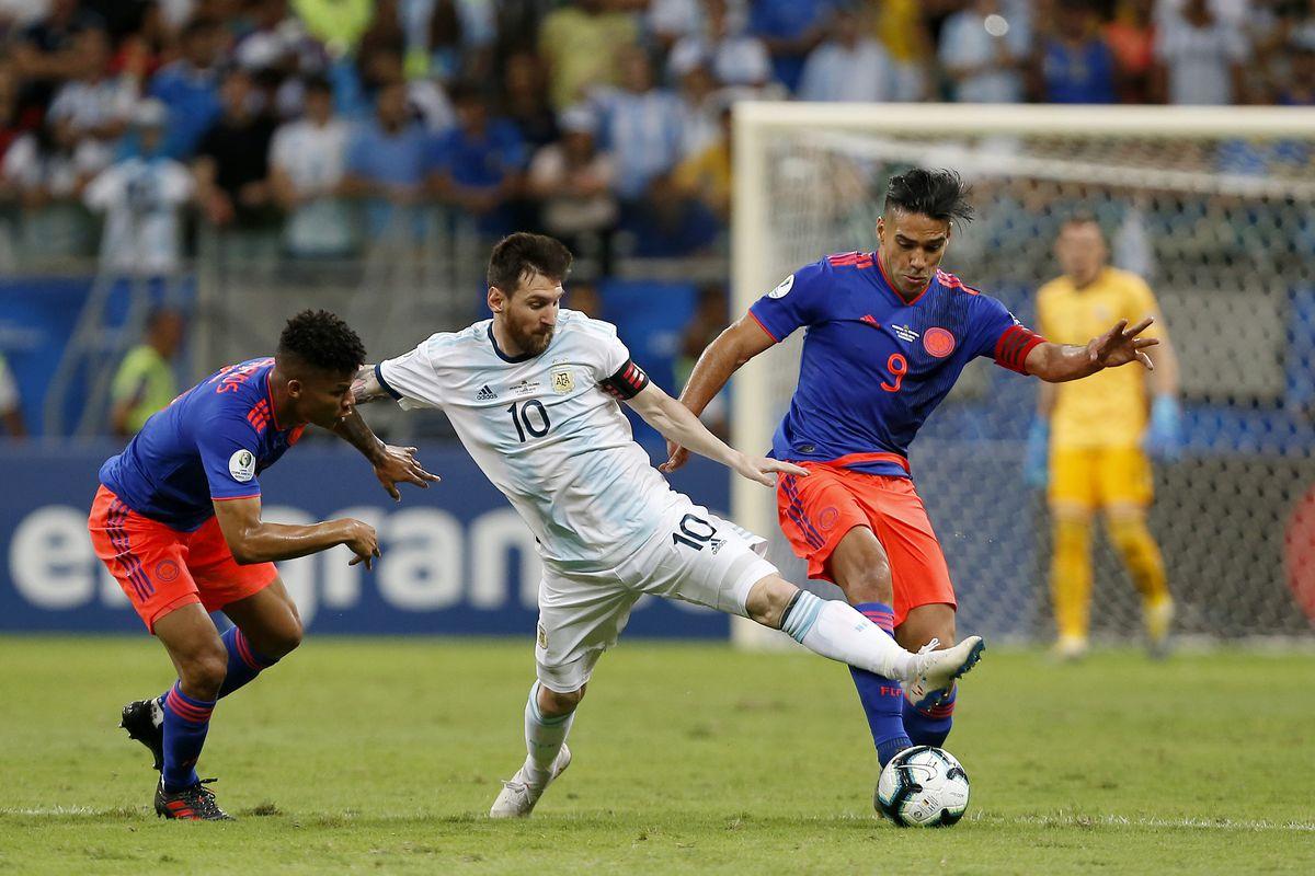Radamel Falcao defends Lionel Messi after Copa America defeat