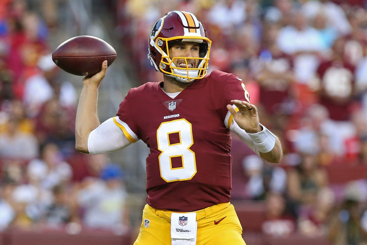 Daily Slop Terrelle Pryor Kirk Cousins developing connection