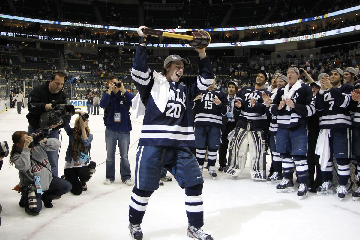 Yale was the first ECAC Hockey member school to win the NCAA Championship since Harvard did so in 1989.