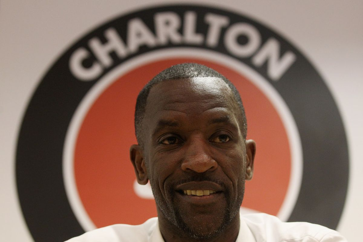 Chris Powell brings his Charlton side to Elland Road on Tuesday night.