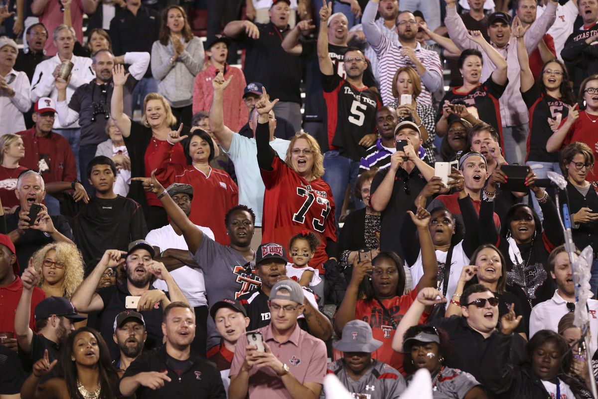 This should be you rooting on the Red Raiders at Jones AT&T Stadium this weekend.