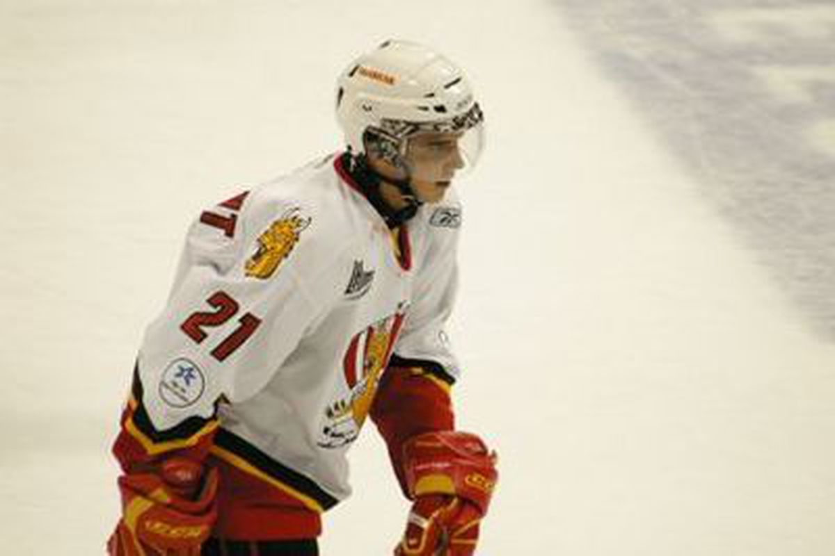 Mathieu Tousignant made an impressive debut yesterday as he tries out for the Dallas Stars.