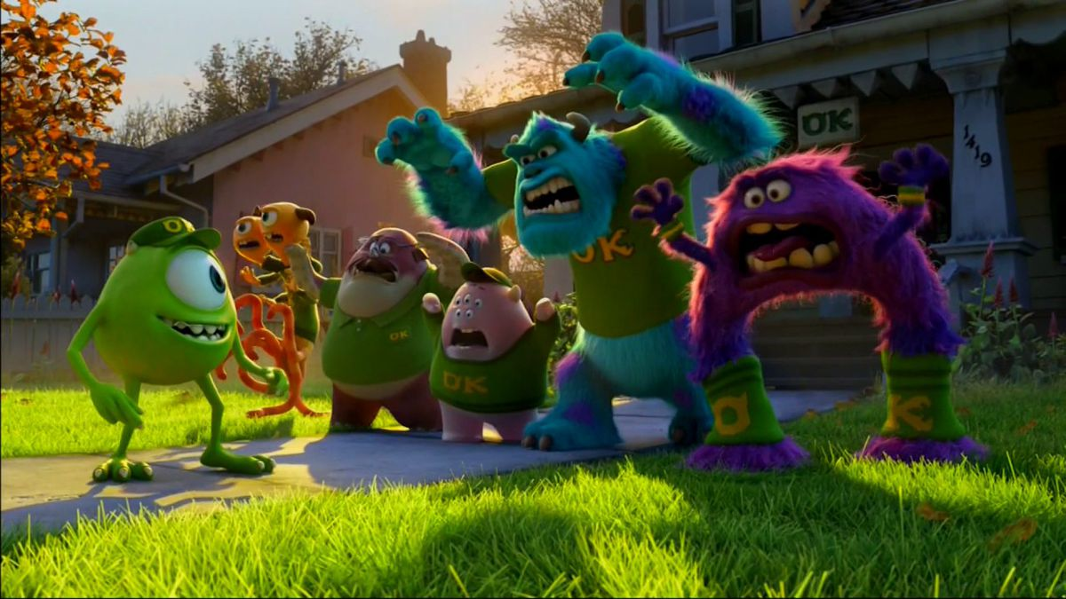 The cast of Monsters University