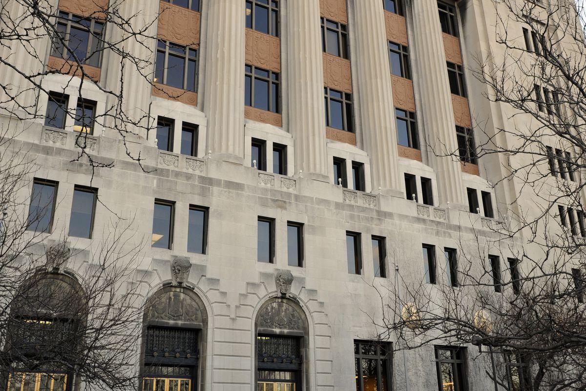 The Leighton Criminal Courthouse.