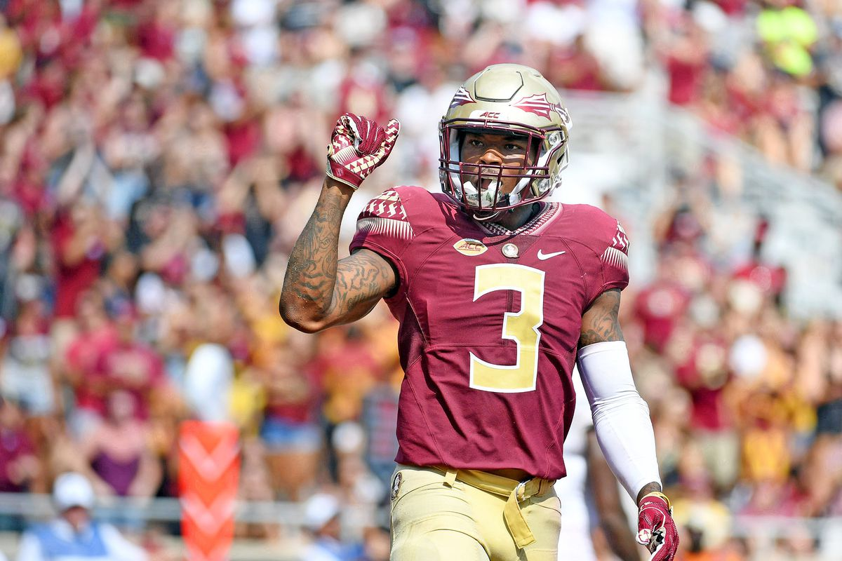 1f6546599 2018 NFL Draft  Film room scouting report on Florida State safety Derwin  James