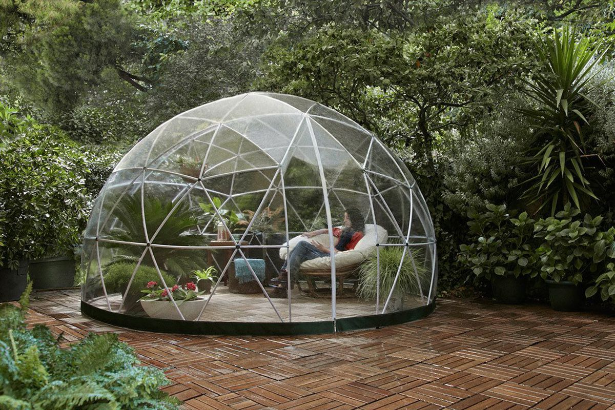 Amazon is selling a $1,200 geodesic dome kit for your