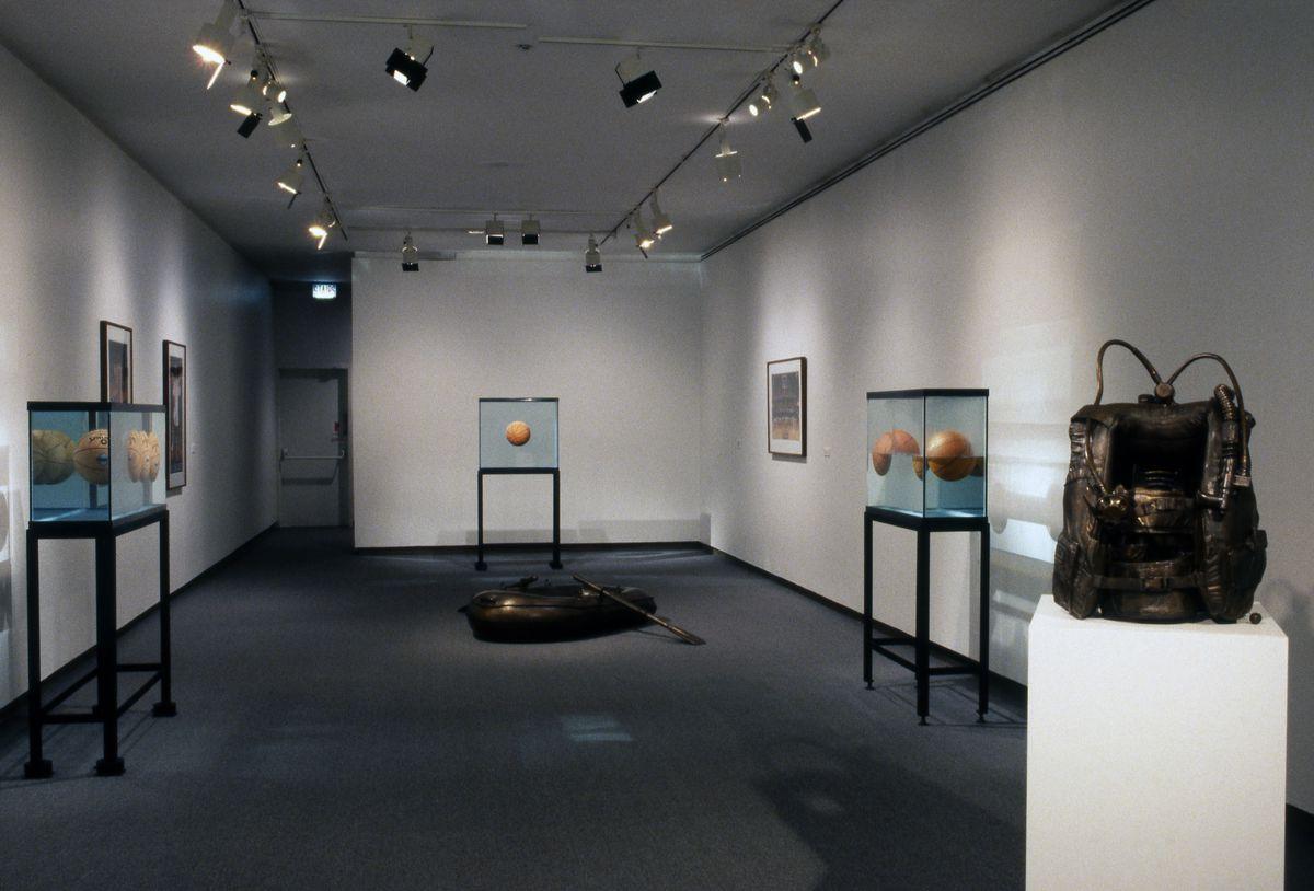 "Installation view, Jeff Koons: ""Words 1979–1988.""   Photo © MCA Chicago"