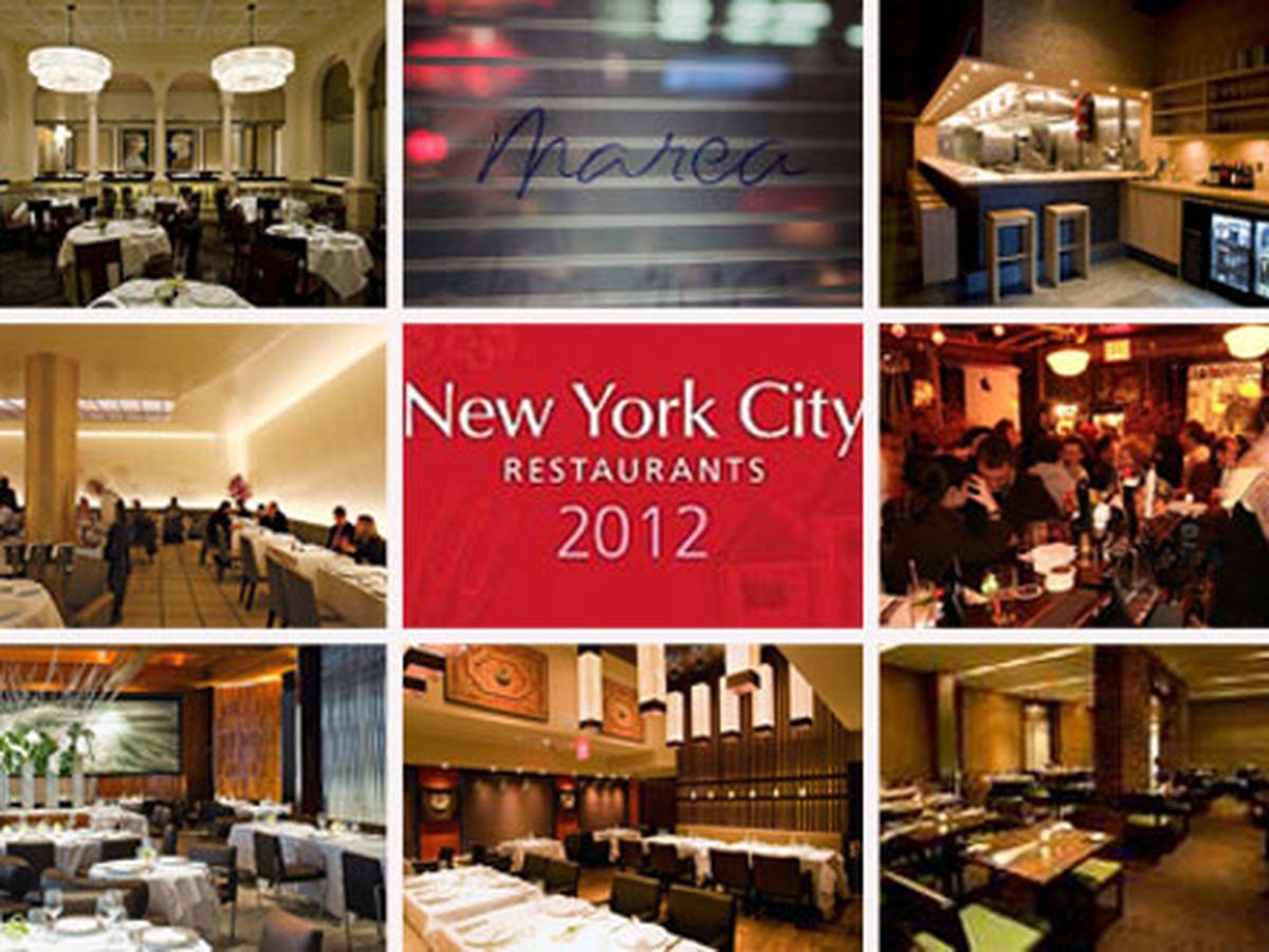 Map Of New York Restaurants.Nyc S Michelin Starred Restaurants Now In Map Form Eater Ny