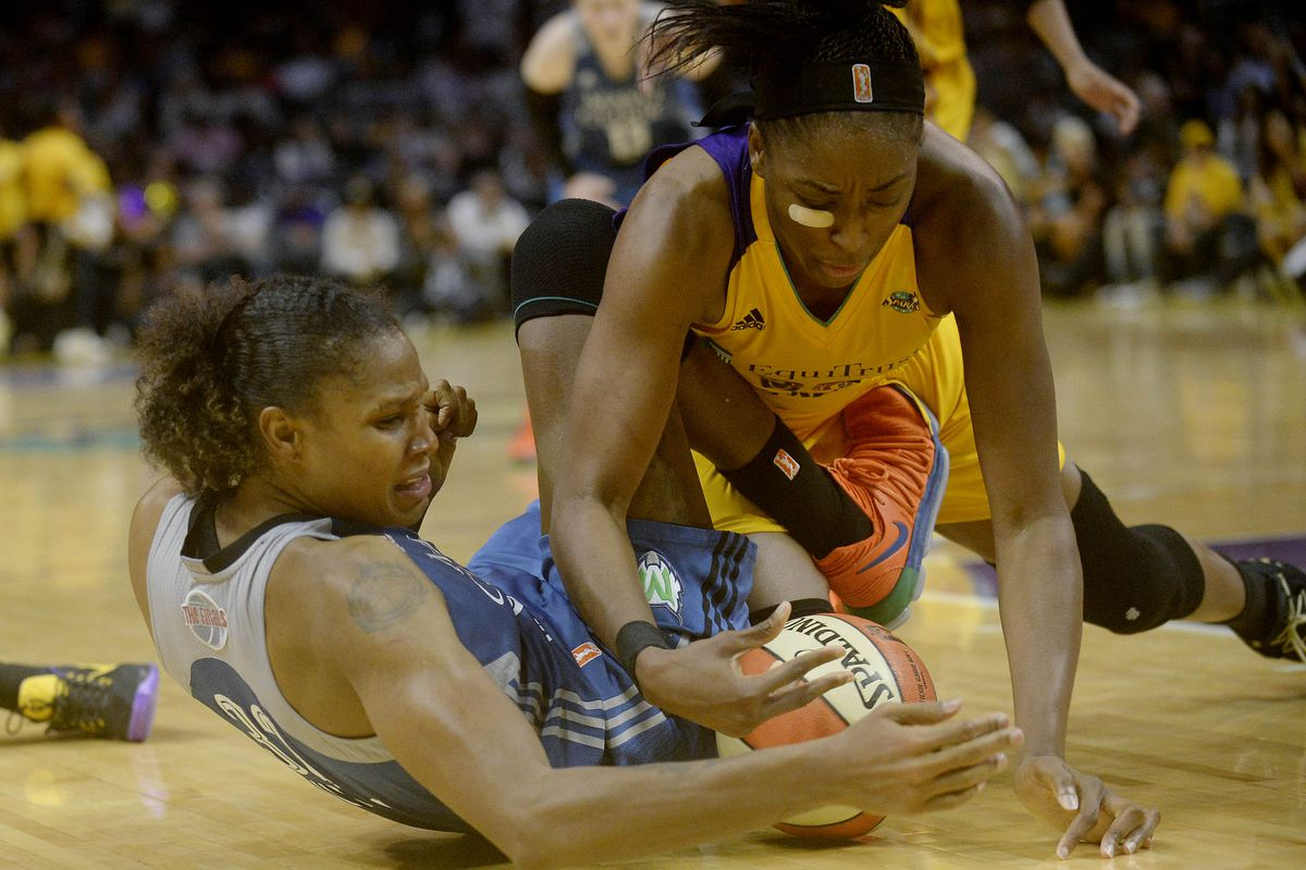 WNBA: Finals-Minnesota Lynx at Los Angeles Sparks