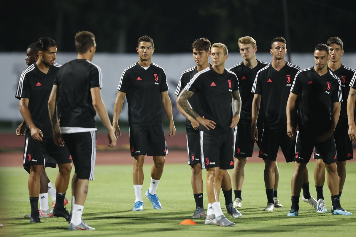 Juventus Official Training & Press Conference