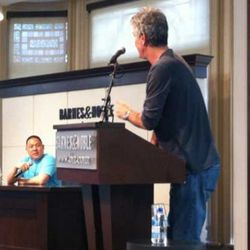 """<a href=""""http://eater.com/archives/2011/05/25/watch-anthony-bourdain-play-screw-marry-kill.php"""" rel=""""nofollow"""">Watch Anthony Bourdain Hold Court at a Barnes and Noble</a><br />"""