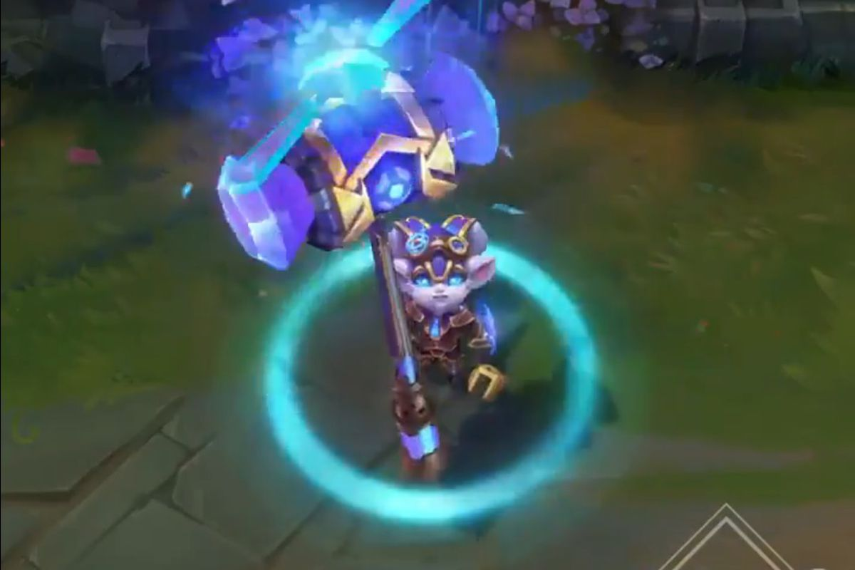 Hextech Poppy is the newest crafting-exclusive skin - The