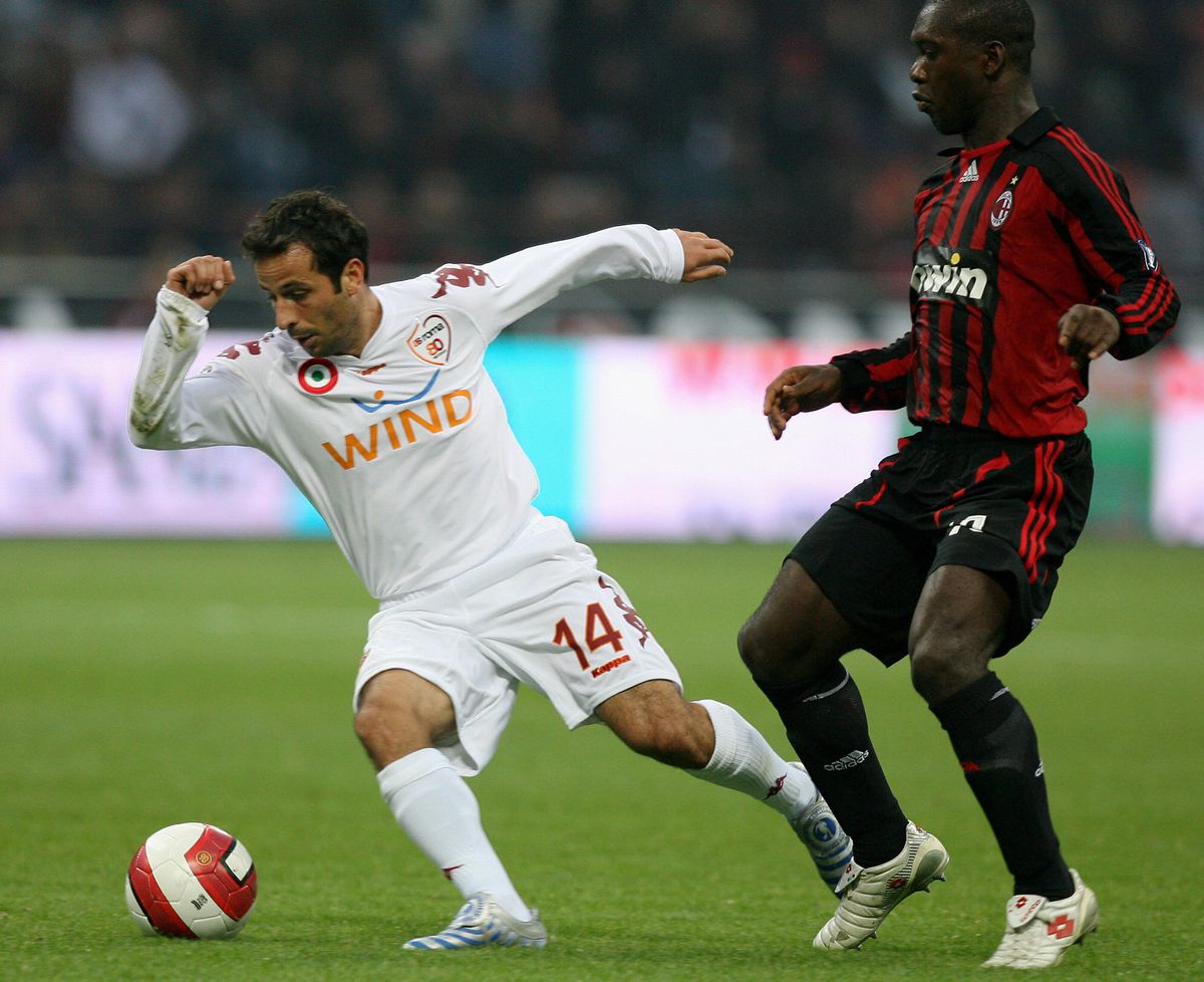 AS Roma's French midfielder Ludovic Giul