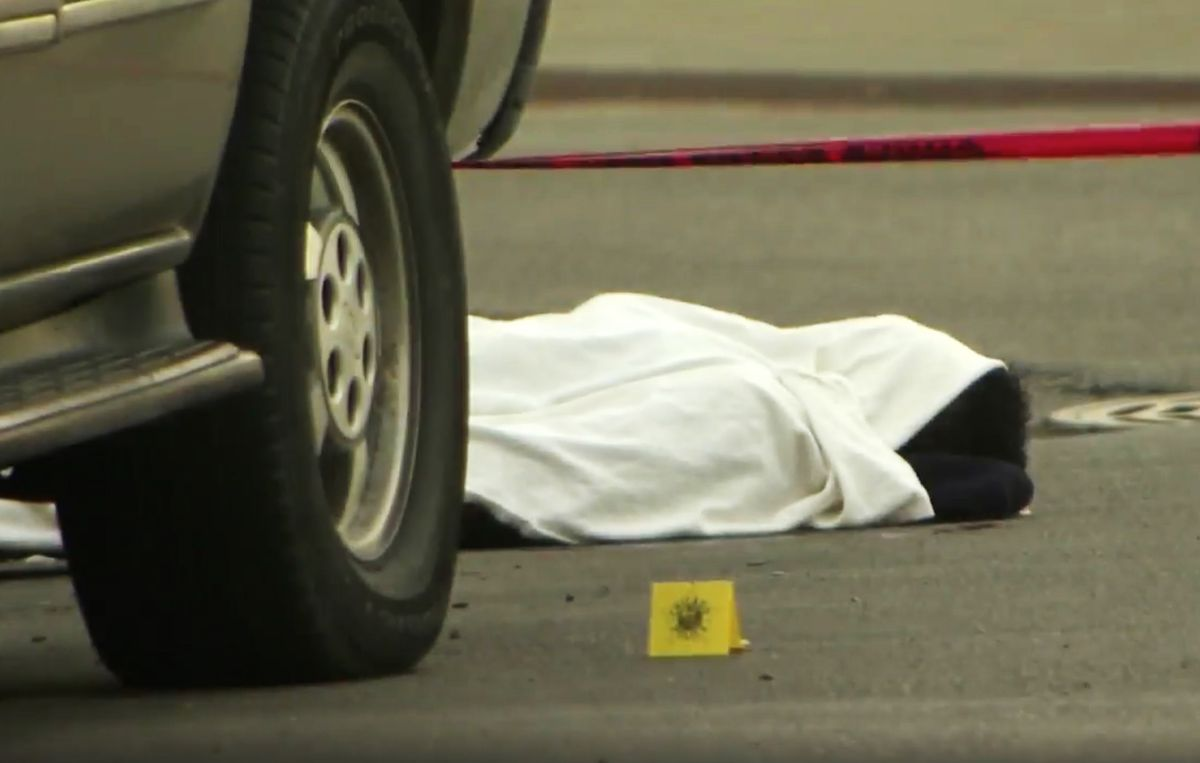 A 17-year-old man was shot June 18, 2018, in the 1300 block of South Loomis. First responders placed a sheet over his body then, minutes later, realized he was alive.