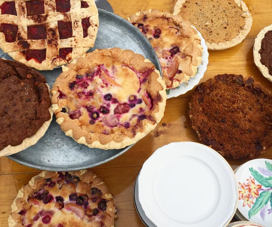 Royer's Round Top Cafe pies