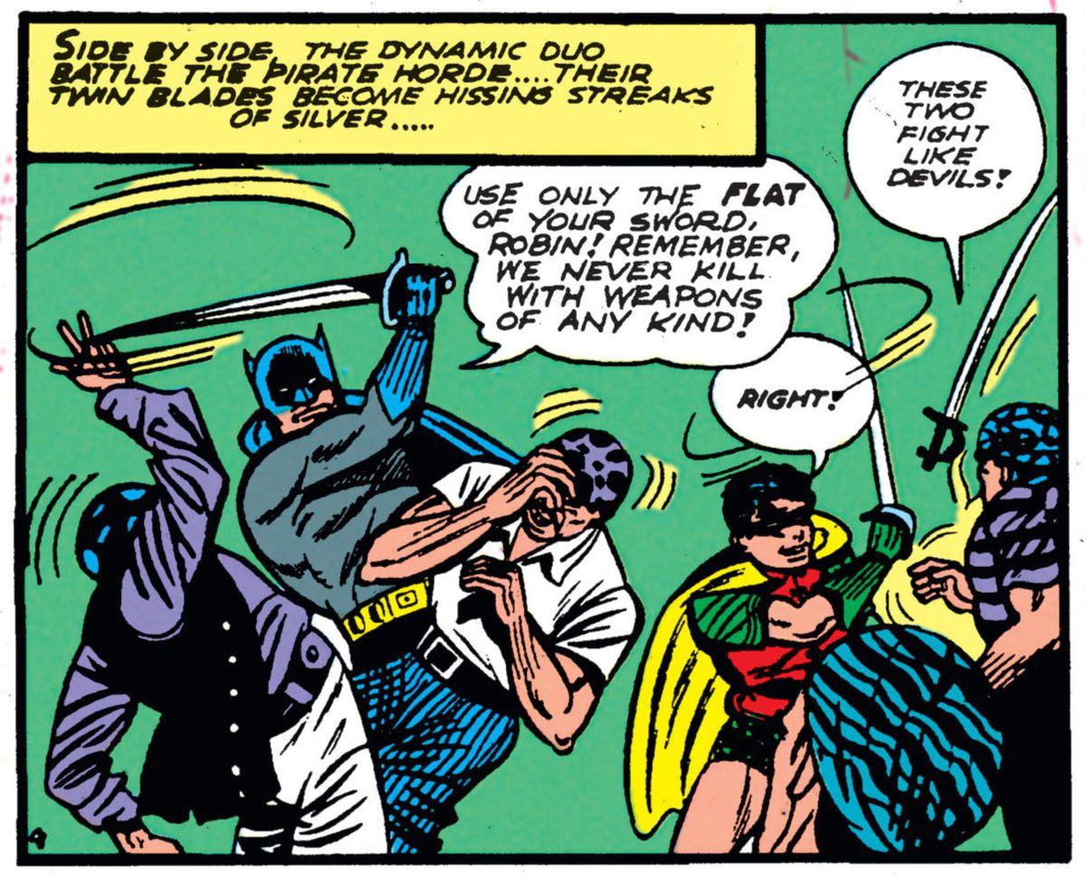 From Batman #4, DC Comics (1941).