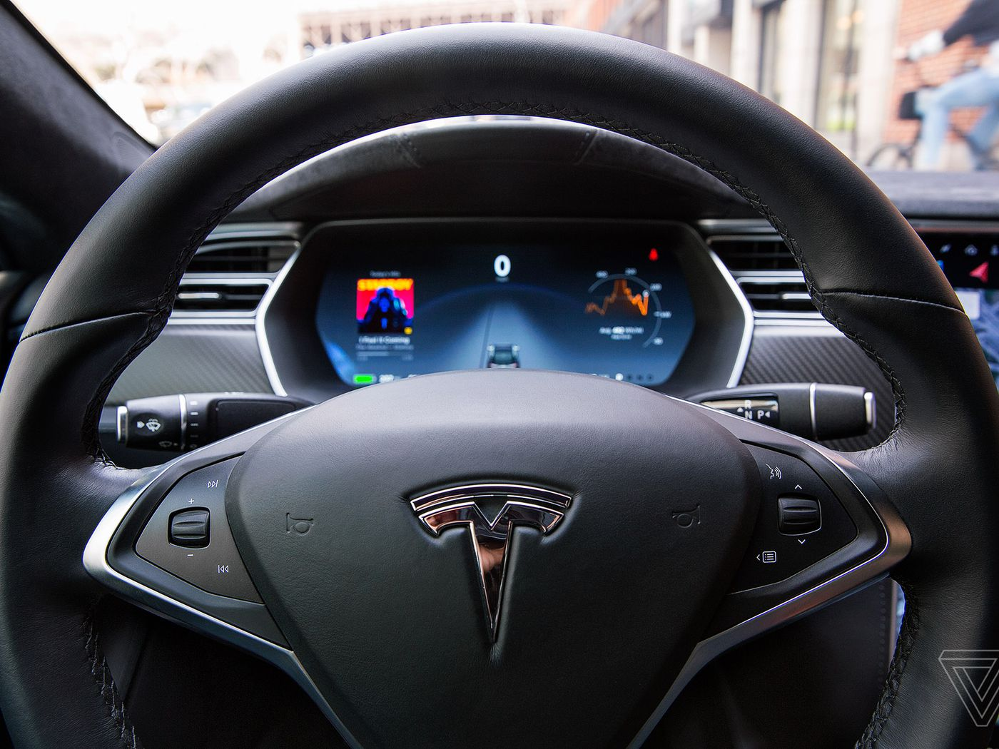 Teslas Autopilot Is Supposed To Deliver Full Self Driving The Verge Digital Radar Speedometer