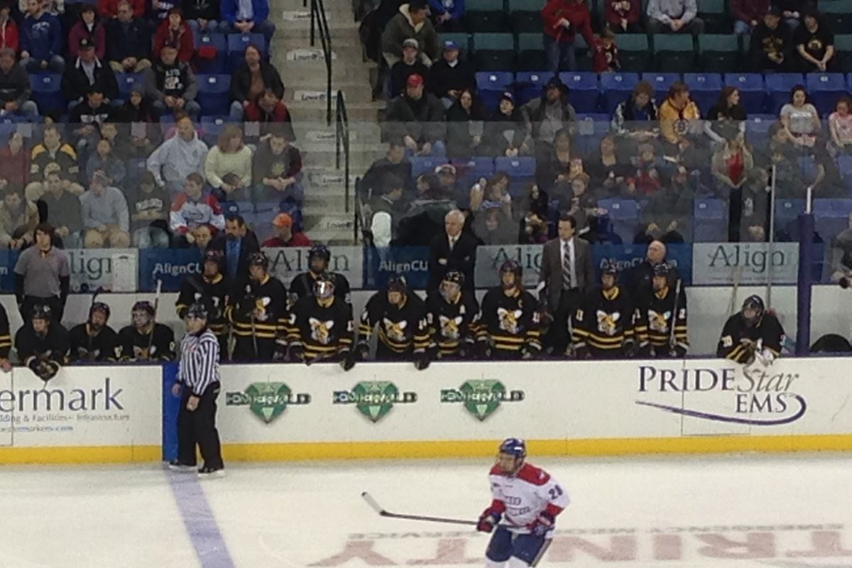 The AIC bench against UMass-Lowell