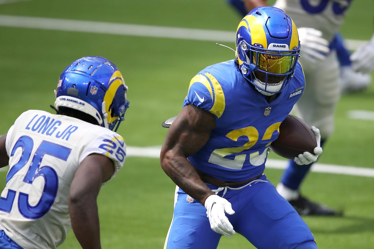 Rams Fantasy News Will Cam Akers Lead 2020 Rookies In Rushing Yards Turf Show Times