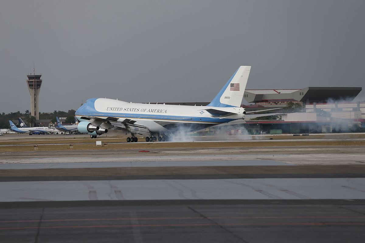 Even Air Force One experiences some turbulence.