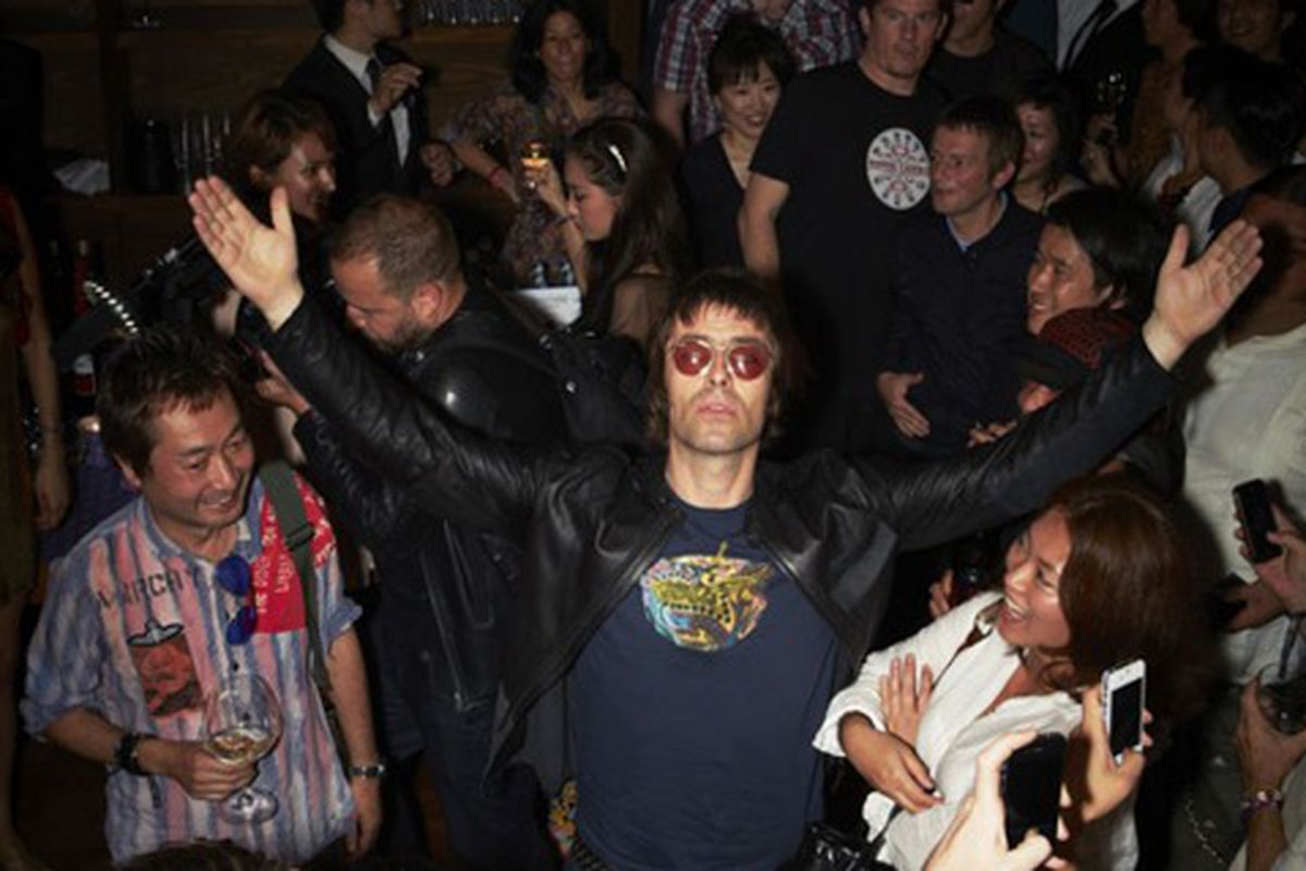 """Killing it in Japan, via <a href=""""http://fashion.telegraph.co.uk/news-features/TMG9441771/Liam-Gallagher-Clothes-are-important-man.html"""">Telegraph</a>"""