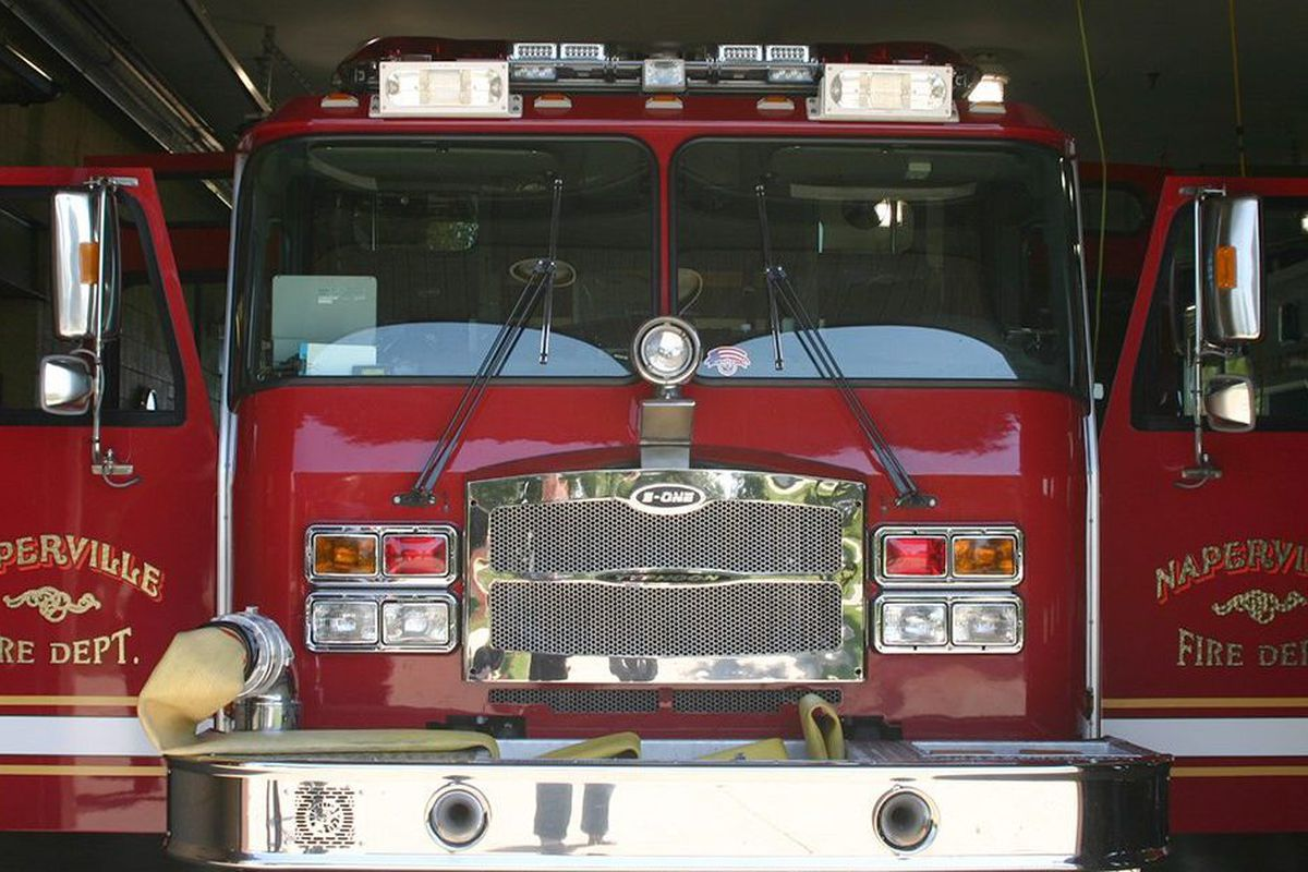 The Naperville Fire Department responded to a blaze July 4, 2020, in the 300 block of Leeds Court.