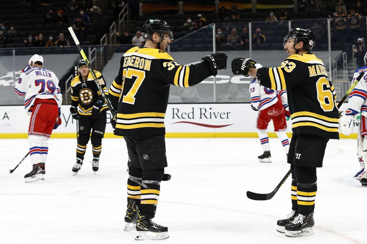 NHL: MAY 06 Rangers at Bruins