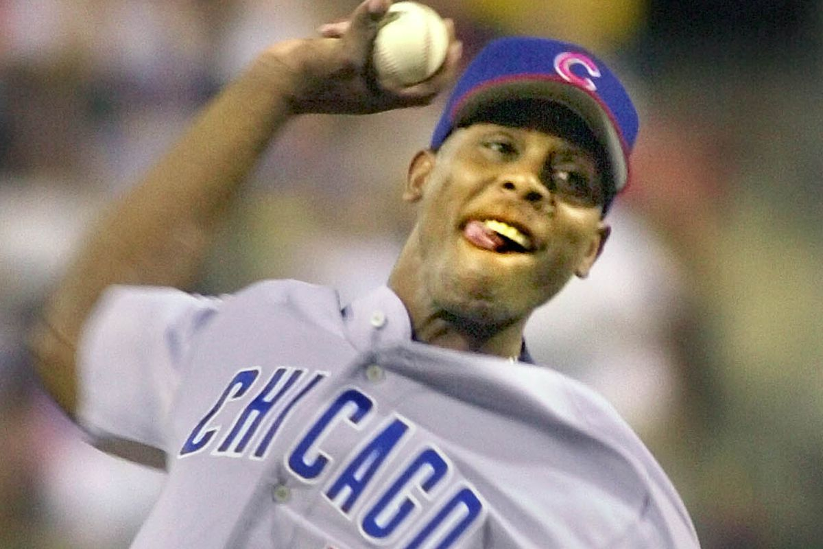 Patrick Mahomes' father, Pat Mahomes, pitched for the Cubs in 2002.