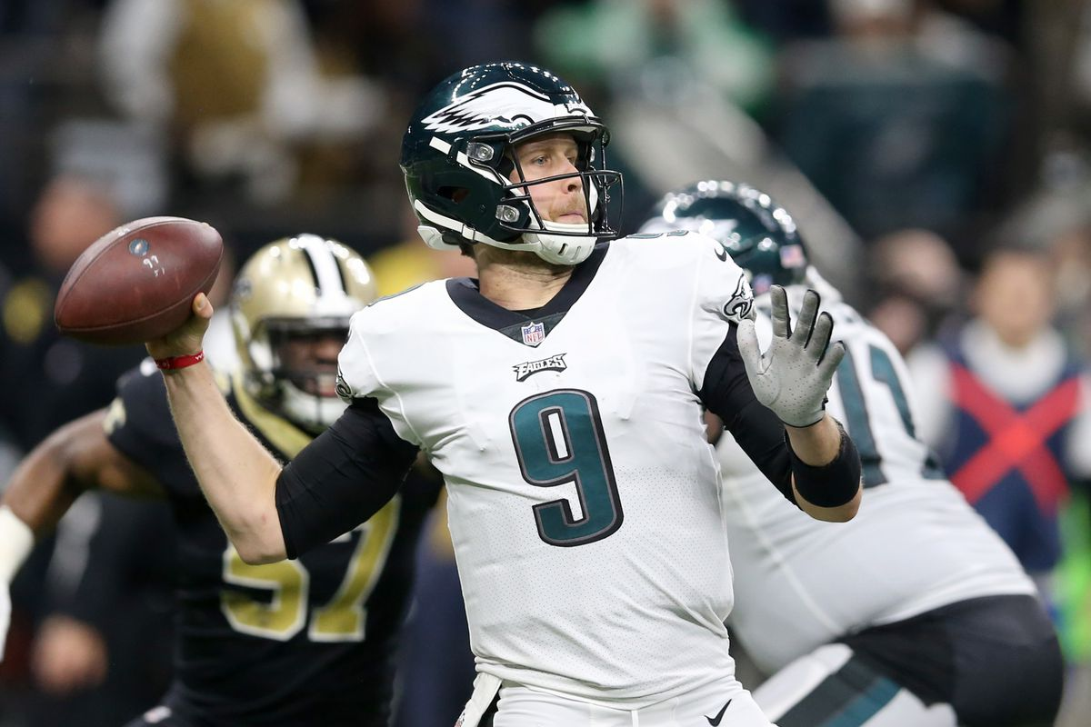promo code 103af 46b60 5 questions with Bleeding Green Nation about Nick Foles ...
